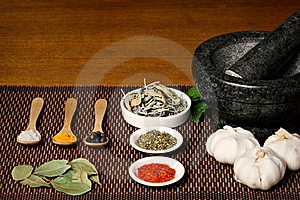 Spices Royalty Free Stock Image - Image: 19349346