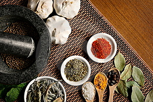 Spices Stock Images - Image: 19349394