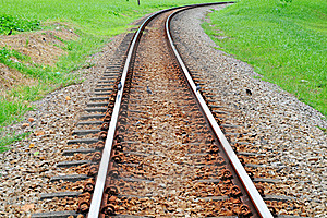 Railway Track Stock Photography - Image: 19349782