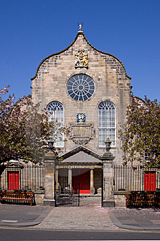 Canongate Kirk, Royal Mile, Edinburgh Royalty Free Stock Images - Image: 19355409