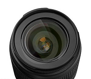 Lens Of The Photo Objective Stock Photo - Image: 19355950