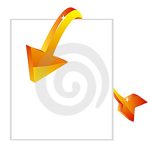 Sale Arrow With Tag Royalty Free Stock Photo - Image: 19362715