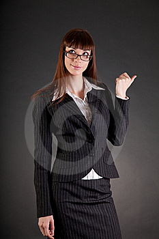 Thoughtful Business Woman Royalty Free Stock Photos - Image: 19363758
