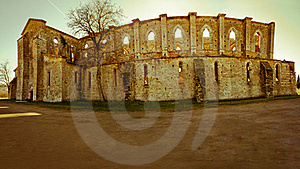 Abbey Ruins Royalty Free Stock Photography - Image: 19364117