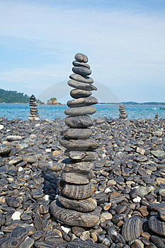 Stack Of Stones Royalty Free Stock Images - Image: 19364789