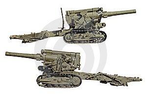 Heavy Guns Stock Photo - Image: 19365410