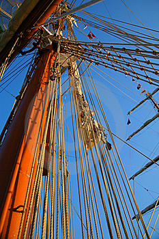 Masts And Sky Royalty Free Stock Photo - Image: 19365705