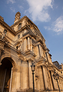 The Louvre, Paris Royalty Free Stock Image - Image: 19366466