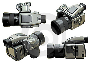 Professional Digital Camera Royalty Free Stock Photos - Image: 19368498