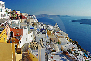 Santorini Before Sunset Royalty Free Stock Photo - Image: 19368975