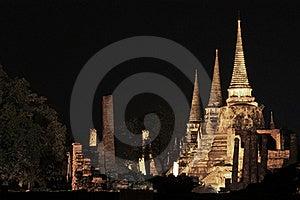 Wat Phra Si Sanphet, Ayutthaya Stock Photos - Image: 19369473