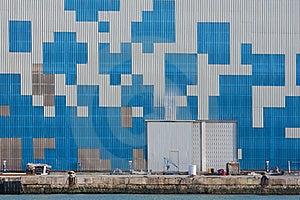 Geometric Forms Wall Stock Photo - Image: 19369570