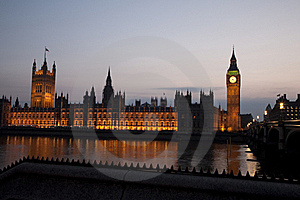 Houses Of Parliament, London Stock Photography - Image: 19369572