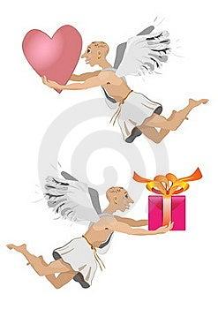 Flying Angel Stock Photo - Image: 19369660