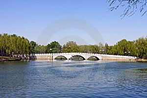 Stone Arch Bridge Of Beijing, China Stock Photography - Image: 19371122