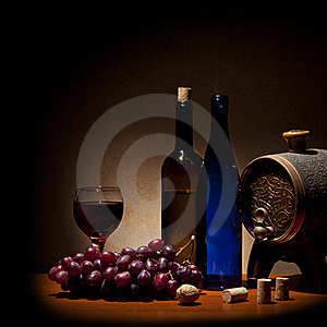Wine Composition Stock Photography - Image: 19372002