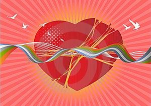 Broken Heart Stock Image - Image: 19372161