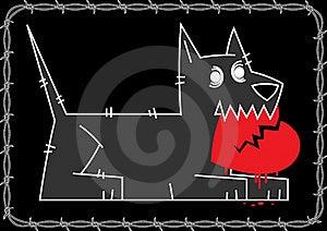 Dog Love Lay Royalty Free Stock Photos - Image: 19372198