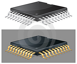 Computer Chip Stock Photography - Image: 19373562