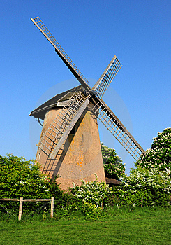 Isle Of Wight Windmill Royalty Free Stock Image - Image: 19376396