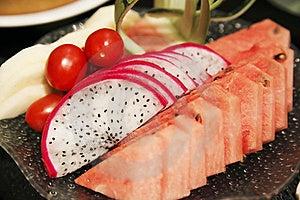 Fruit Plate Stock Photos - Image: 19376653