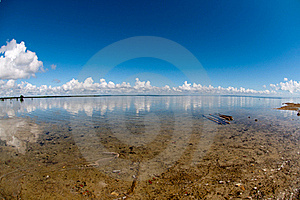 Clouds On Clear Day Stock Photography - Image: 19379452