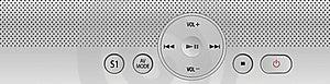 Media Player Interface Royalty Free Stock Image - Image: 19386046
