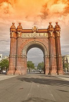 BARCELONA. Arc De Triomf Stock Images - Image: 19390114