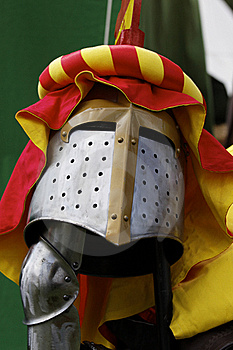 Helmet Of A Knight Stock Images - Image: 19390874