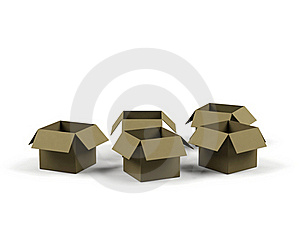 Cardboard Boxes. Stock Photos - Image: 19392953