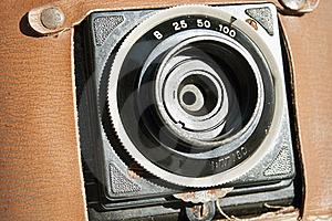 Vintage Camera Royalty Free Stock Image - Image: 19393266