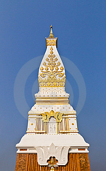 Wat That Phanom Temple Royalty Free Stock Image - Image: 19395016