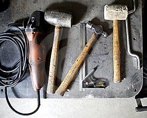 现有量工具 免版税库存图片 - 图片: 19395049