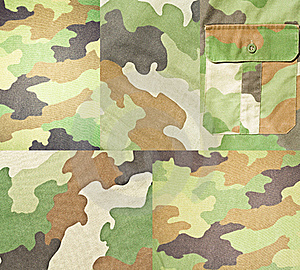 Collection Of Army Backgrounds Royalty Free Stock Image - Image: 19395516