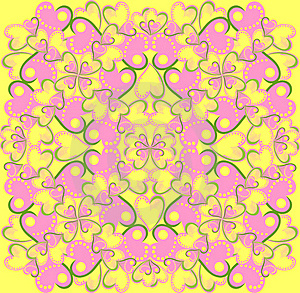 Floral Vector Seamless Pattern Stock Photography - Image: 19395572