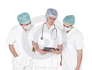 Doctor And Nurses Stock Photo - Image: 19398020