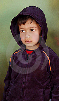 Boy Who Thinking Deeply. Stock Images - Image: 19399314