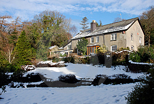 Welsh Farmhouse 02 Stock Photo - Image: 1945890