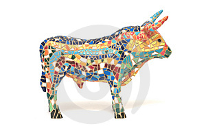 Spanish Bull Souvenir Royalty Free Stock Images - Image: 1948779