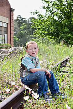 Children Outdoors Stock Images - Image: 19401044