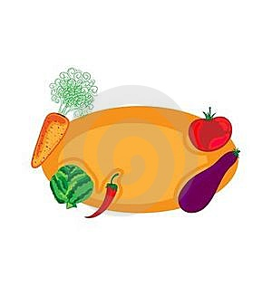 Vegetable Design Royalty Free Stock Photography - Image: 19404077
