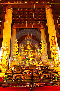 Arrange Of Buddha Image Stock Photography - Image: 19405172