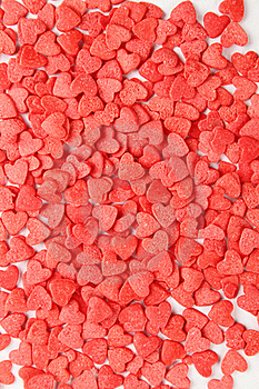 Background Of Red Hearts Stock Images - Image: 19408534