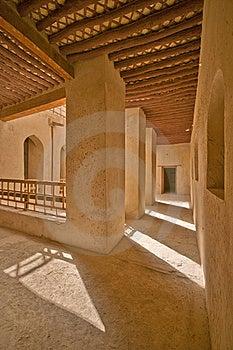 Rustaq Fort Stock Image - Image: 19409101