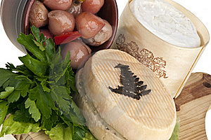 Goat Cheese Flavored Royalty Free Stock Photos - Image: 19411478