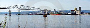 Panorama Of The Longview WA. Stock Photo - Image: 19414590