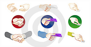 Hand Position Royalty Free Stock Image - Image: 19416786