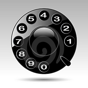 Telephone Numbers Royalty Free Stock Images - Image: 19418469