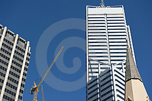 Skyscraper Perth Business District Royalty Free Stock Image - Image: 19422356