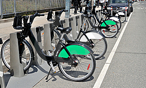 Bicycles For Rent Stock Images - Image: 19422624